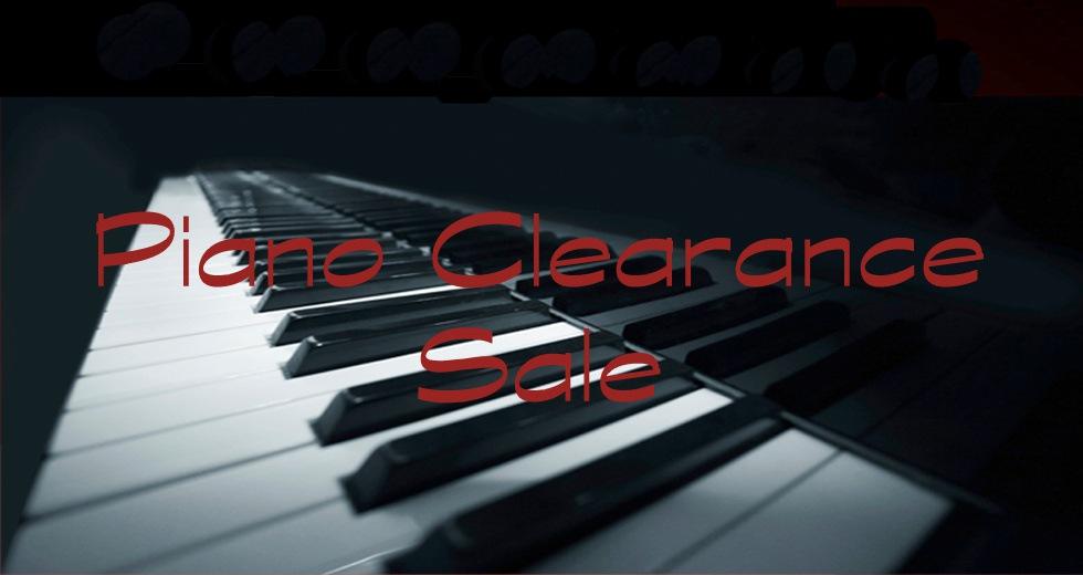 Piano Clearance SalePiano